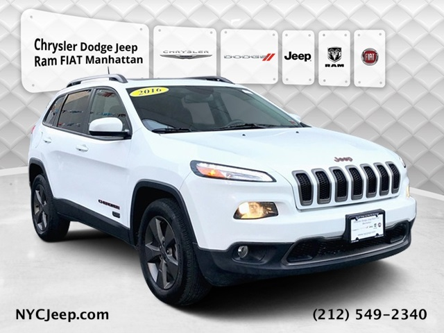 2016 JEEP CHEROKEE 75TH ANNIVERSARY EDITION 4WD