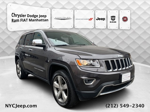 2016 JEEP GRAND CHEROKEE LIMITED WITH NAVIGATION & 4WD