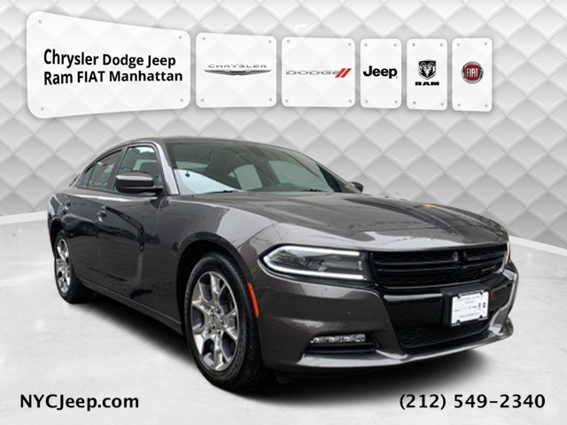 2015 DODGE CHARGER SXT WITH NAVIGATION & AWD