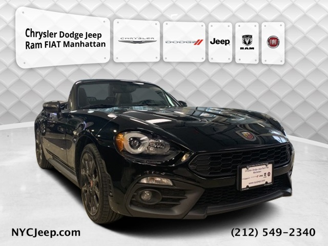 2017 FIAT 124 SPIDER ABARTH RWD 2D CONVERTIBLE