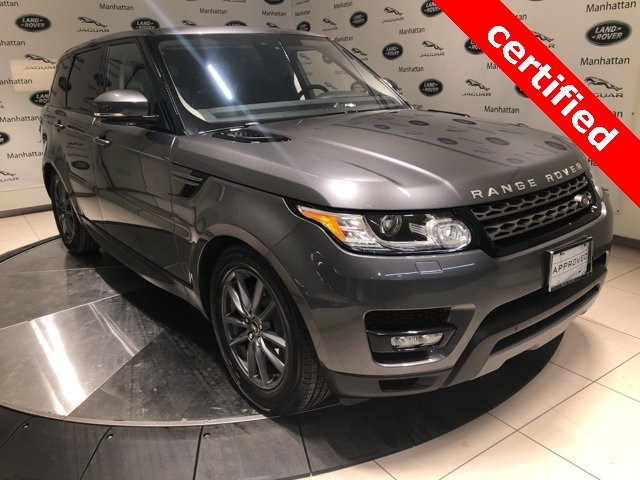 Pre-Owned 2017 Land Rover Range Rover Sport 3.0L V6 Supercharged SE
